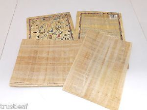10 Sheets Egyptian Plain Papyrus